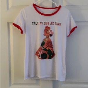 Take as old as Time Ringer Tee Shirt
